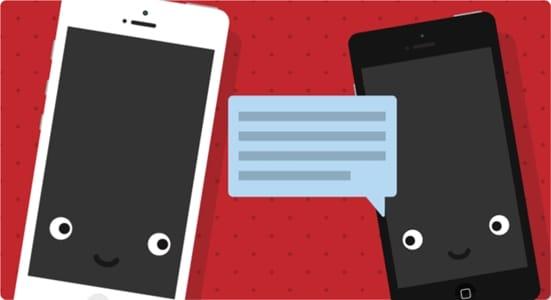 Bellen van mobiel naar mobiel via internet
