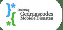Logo Stichting Gedragscodes Mobiele Diensten