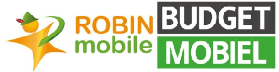 Logo Robin Mobile en Logo Budget Mobiel