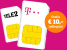 Tele2 prepaid over naar T-Mobile