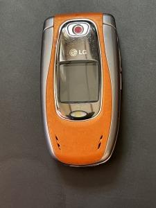 LG klaptelefoon oranje