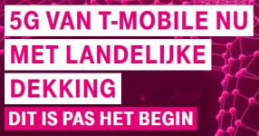 T-Mobile 5G landelijke dekking