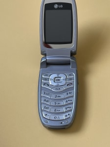 LG klaptelefoon