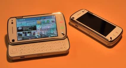 Het homescreen van de N97 is naar eigen inzicht in te richten