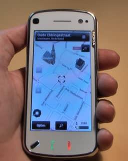 De nieuwste versie van OVI maps zit ook op de N97