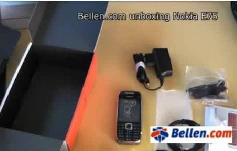 Bekijk ook de Bellen.com video eerste indruk van de Nokia E75!