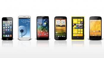 Mobiele telefoons vergelijken