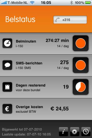 Afrekentrucs Belstatus app