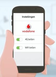 Met Vodafone 4G wifi bellen